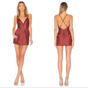 NWT X by NBD Crossback Mini Dress